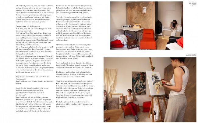 Interview mit Bildern von Bea