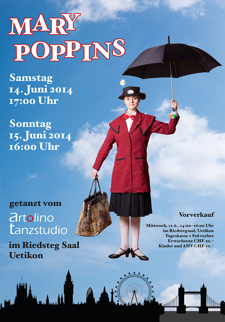 Plakat Mary Poppins