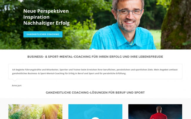 Screenshot Website coaching-aargau.ch