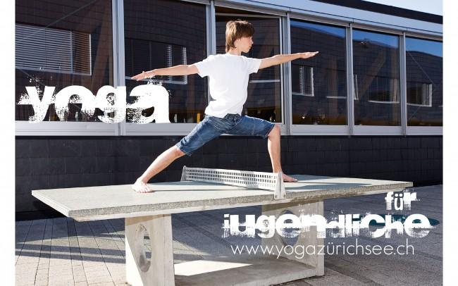 Yogapose, Jugendliche