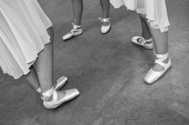 Ballett, hinter den Kulissen