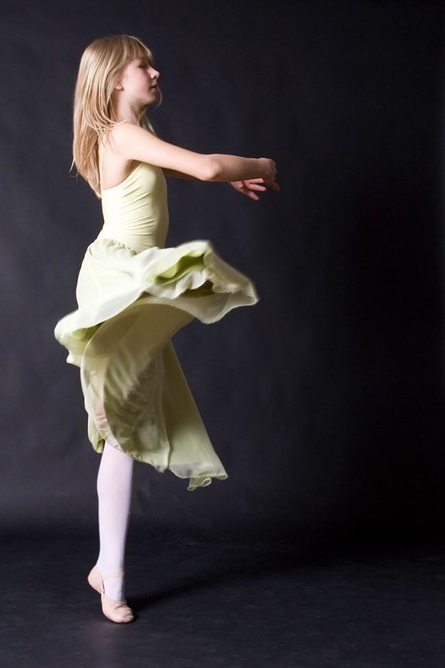 Ballettpose Anja
