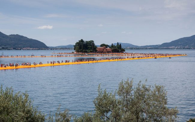 The Floating Piers, Juni 2016