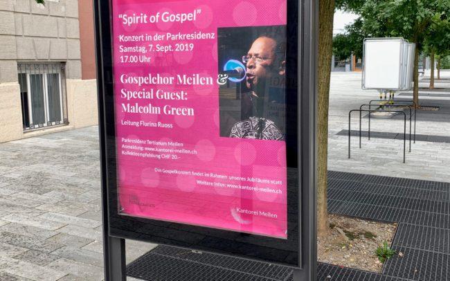 Weltplakat Gospelkonzert