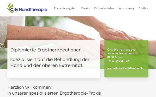 Startseite City Handtherapie